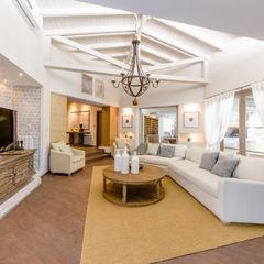CASA BNG BLOS Arquitectos Livings modernos: Ideas, imágenes y decoración Blanco