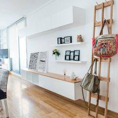 Departamento CONCEPCION ARENAL Trua arqruitectura Salones minimalistas