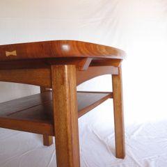 木の家具 quiet furniture of wood Salas de multimídiaMobiliário Madeira