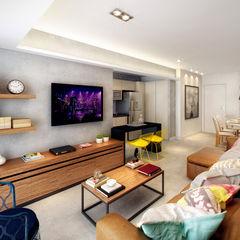 SESSO & DALANEZI Modern living room
