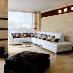 Pent House 505 Arq Renny Molina Salas de estilo moderno