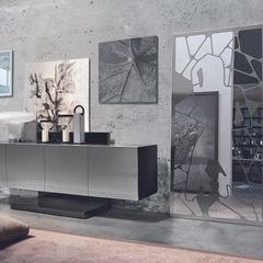 BandIt Design Living roomCupboards & sideboards Iron/Steel Metallic/Silver