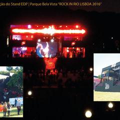RedBee Modern event venues Iron/Steel Black