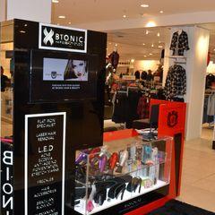 Bionic Kiosk / In Edgars Stores Nationwide Oscar Designs
