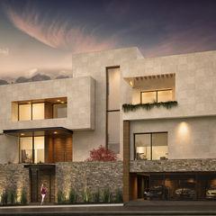 Rousseau Arquitectos Modern houses Granite Beige