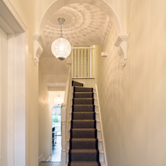 Nasmyth Street Frost Architects Ltd Classic style corridor, hallway and stairs