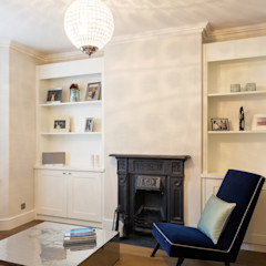 Nasmyth Street Frost Architects Ltd Classic style living room