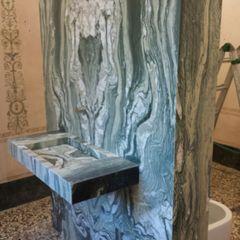 Giemme Marmi S.R.L. BathroomSinks Marble Green