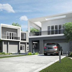 House in Edenvale - Face-lift and aditions Essar Design Modern Houses