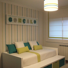 MAMAISON Atelier Interiores Nursery/kid's roomLighting Green