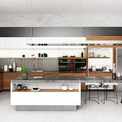 Juxta Interior Kitchen Grey
