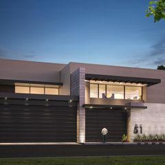 Rousseau Arquitectos Modern houses Beige
