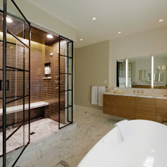 Fire Restoration in Chevy Chase Creates Opportunity for Whole House Renovation BOWA - Design Build Experts سرویس بهداشتی