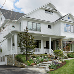 Fire Restoration in Chevy Chase Creates Opportunity for Whole House Renovation BOWA - Design Build Experts Detached home