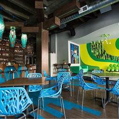 Supri Representações Locales gastronómicos Plástico Multicolor