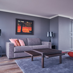 Anne Lapointe Chila Modern living room
