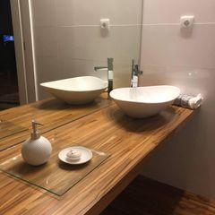 Fernando carvalho Ванная комнатаДекор Твердая древесина Эффект древесины