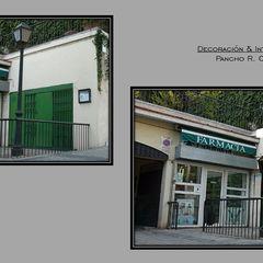 Pancho R. Ochoa Interiorismo Espaços comerciais clássicos Ferro/Aço Verde