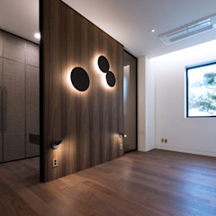 Design Tomorrow INC. Modern style media rooms