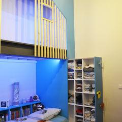 Kauri Architecture Спальня хлопчиків Дерево Синій