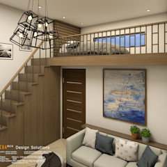 Penthouse with Loft CB.Arch Design Solutions Commercial Spaces