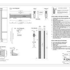 P.GARCIA   Projetos Técnicos Floors Concrete Grey