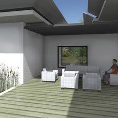 MEDAH ARCHITECTURE ET ECO LOGIS Modern houses