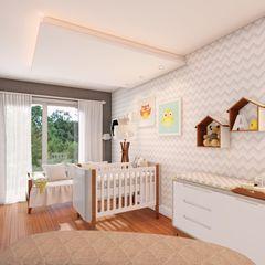 Studio MP Interiores Baby room MDF Grey