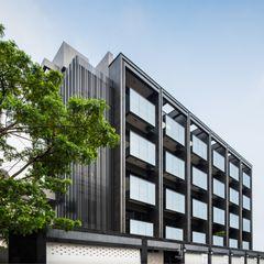 單純是最重要的設計 竹村空間 Zhucun Design Offices & stores Metal
