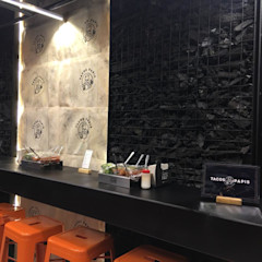 Xome Arquitectos Modern Walls and Floors Black