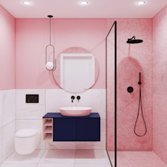Pracownia Projektowa HybriDesign Adelina Czerbak Bagno moderno Rosa