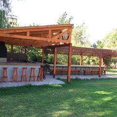 Latitud Sur Modern Terrace Wood Wood effect