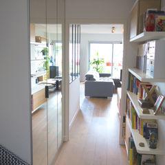 Créateurs d'Interieur Scandinavian style corridor, hallway& stairs