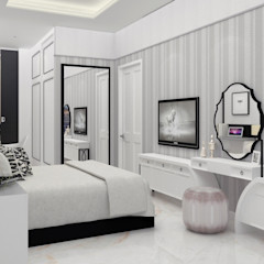 DSL Studio BedroomAccessories & decoration Textile White
