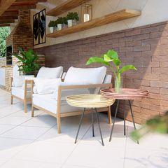 Studio MP Interiores Patios & Decks Solid Wood Wood effect