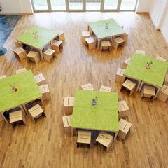 Weinkath GmbH Modern Dining Room Wood Green