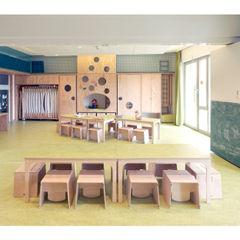 Weinkath GmbH Modern Walls and Floors Wood Multicolored