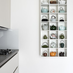 Weinkath GmbH KitchenCabinets & shelves Wood-Plastic Composite White