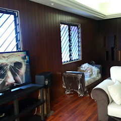 INTERIOR REFURBISHMENT FOR APARTMENT AT TAMAN KUCHAI LAMA, KUALA LUMPUR eL precio Living room