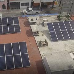 Instalación de 30 Paneles solares reSolar Centros comerciales