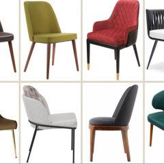 Upholstered chairs and stools SG International Trade ЇдальняСтільці та лавки