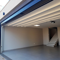 Cattani Portões Garage Doors Iron/Steel Black