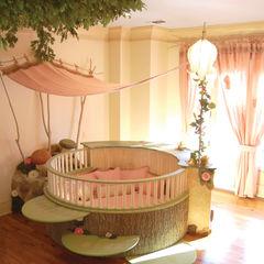 Adaptiv DC Спальня для дівчаток Дерево Бежевий