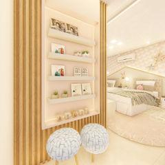 Habitus Arquitetura Girls Bedroom MDF Pink