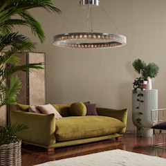 The Radial chandelier by willowlamp willowlamp Living roomLighting Metal