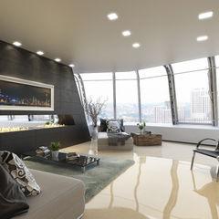 Arquitectura Progresiva Modern Living Room