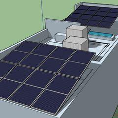 ESPECIALISTAS EN ENERGÍA SOLAR SOLAR MX INSTALACIÓN DE PANELES SOLARES Roof terrace