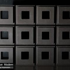 株式会社 虔山 Balconies, verandas & terraces Accessories & decoration Tiles Black