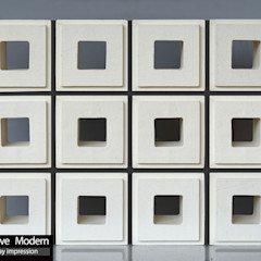 株式会社 虔山 Balconies, verandas & terraces Accessories & decoration Tiles White