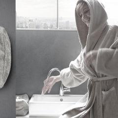 POEMO DESIGN Ванна кімнатаТекстиль та аксесуари бавовна Білий